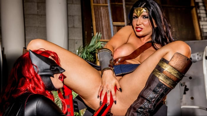Charlotte Stokely in Justice League XXX An Axel Braun  ...